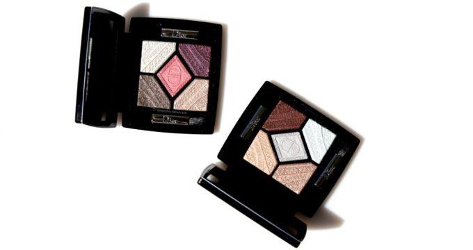 Dior Skyline eyeshadow palettes closer