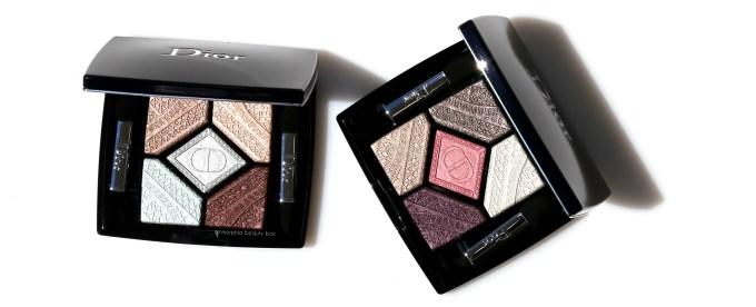 Dior Skyline eyeshadow palettes opener