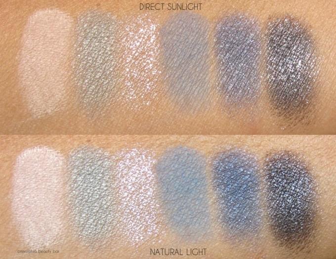 Lancome Sonia Rykiel Saint-Germain palette swatches 1