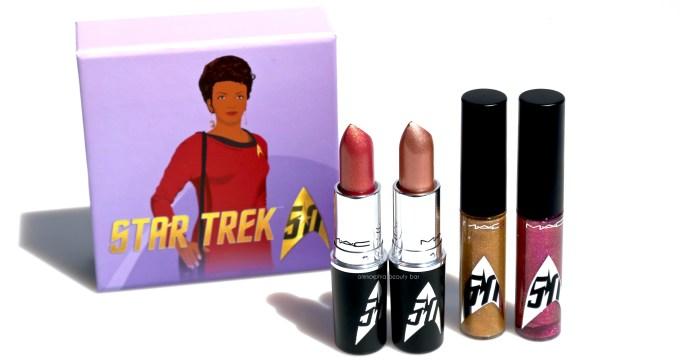 MAC Star Trek lippies