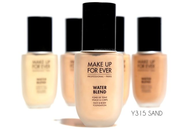 MUFE Y315 Water Blend foundation
