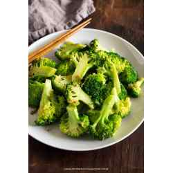 Small Crop Of Stir Fry Broccoli
