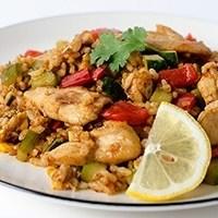 Thai Curry Chicken Fried Rice