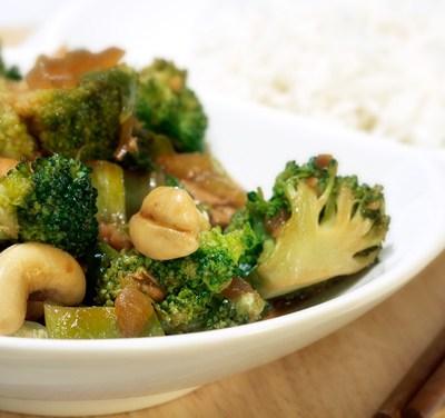 Cashew Broccoli Stirfry