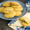 Lemon & Blueberry Polenta Cookies