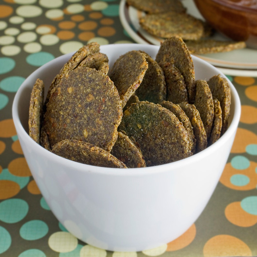 Savoury Flax Crackers