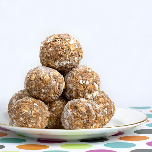 Om Nom Ally - Almond Protein Freezer Bites