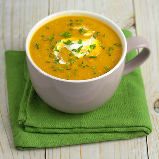 Om Nom Ally Pumpkin & Corn Soup