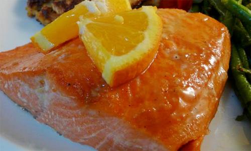 salmon-orange