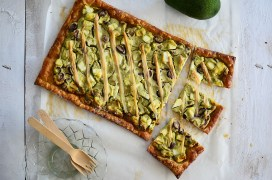 avocado-tart