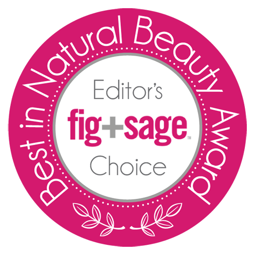 Fig+Sage BEST IN NATURAL BEAUTY AWARDS 500p