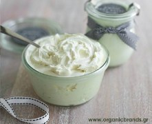 shea butter whipped cream