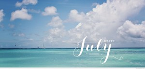 Happy-July-saying-wallpaper