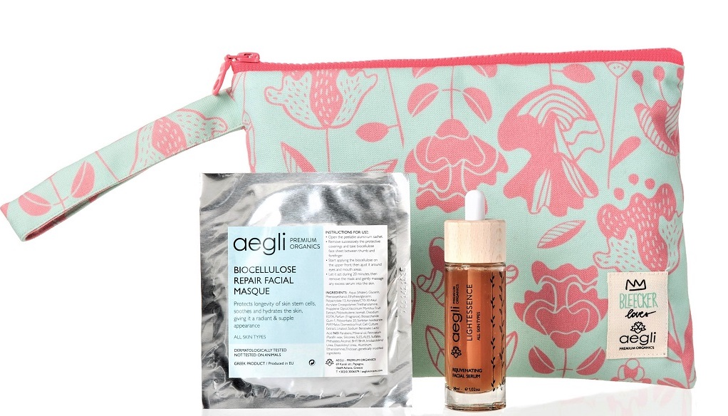 2.  GET THE GLOW-Aegli gift pouch