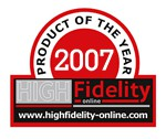 High Fidelity Product of the Year 2007 Logo