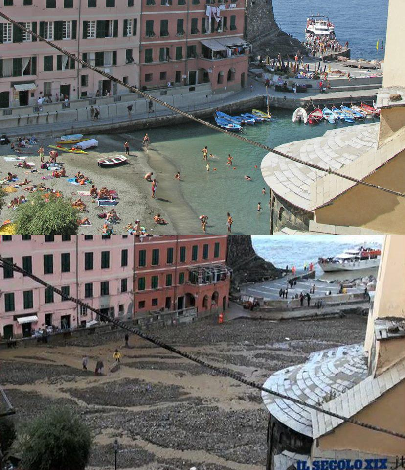 Cinque Terre, Vernazza Flooding:  Before and after photos and videos  (2/2)