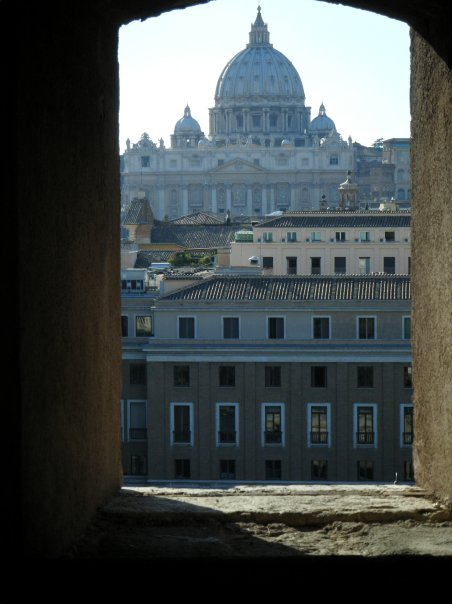 My Love Affair with Rome |  Sunset at Castel Sant'Angelo (1/4)