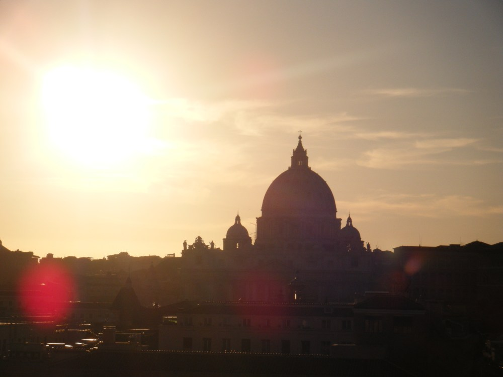 My Love Affair with Rome |  Sunset at Castel Sant'Angelo (2/4)