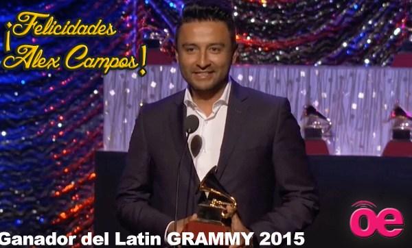 Alex Campos Latin GRAMMY 2015