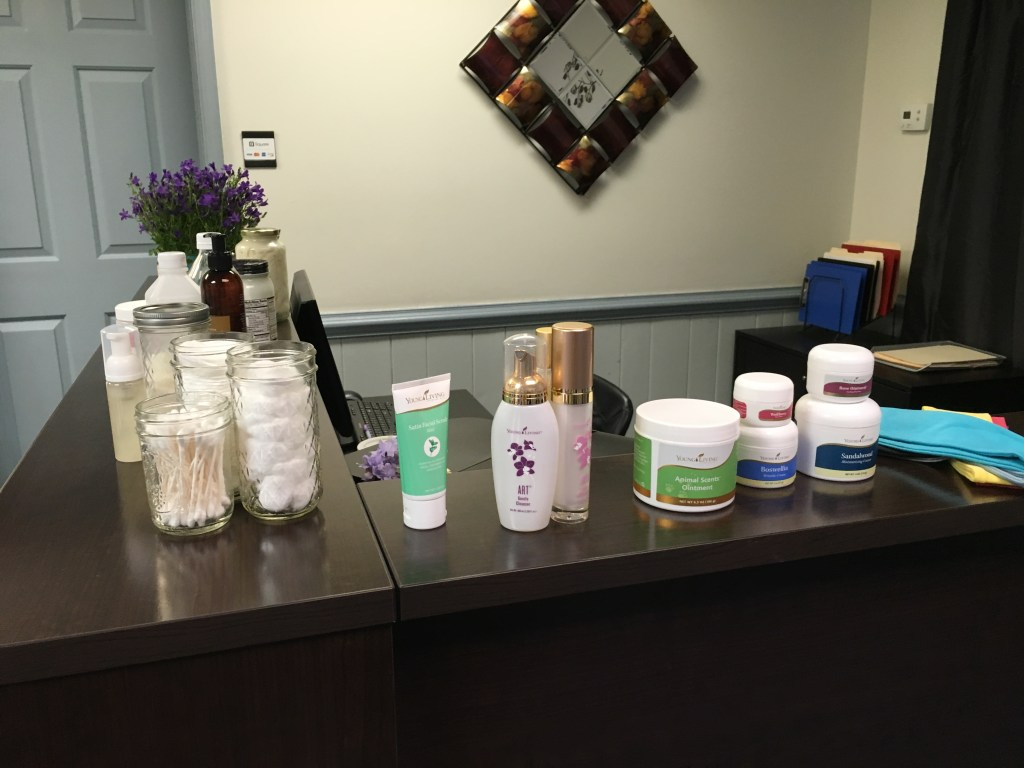 Celebrating Natural Beauty Class Beauty Line of Products