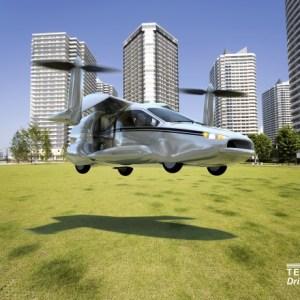 Terrafugia presenta TF-X, el auto volador híbrido
