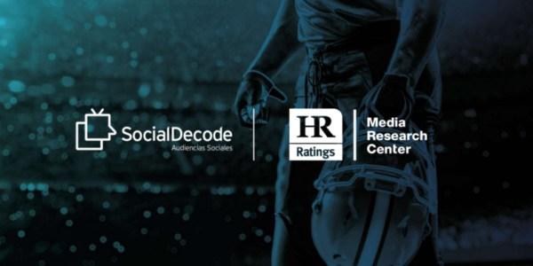 HR MEDIA y Social Decode firman una alianza para integrar la medición de los Social TV Ratings