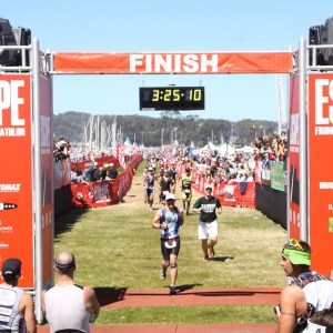 Escape from Alcatraz Finish