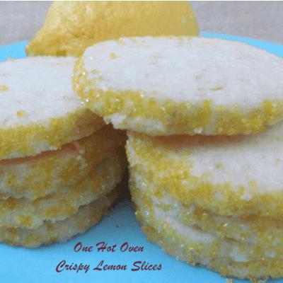 Crispy Lemon Slices