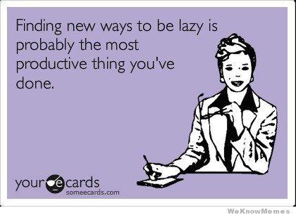 Lazy Productive