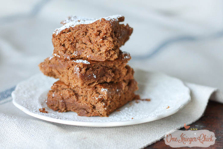 Delicious 2 Ingredient Pumpkin Spice Bars- A requested family Favorite at our house!-OneKriegerChick