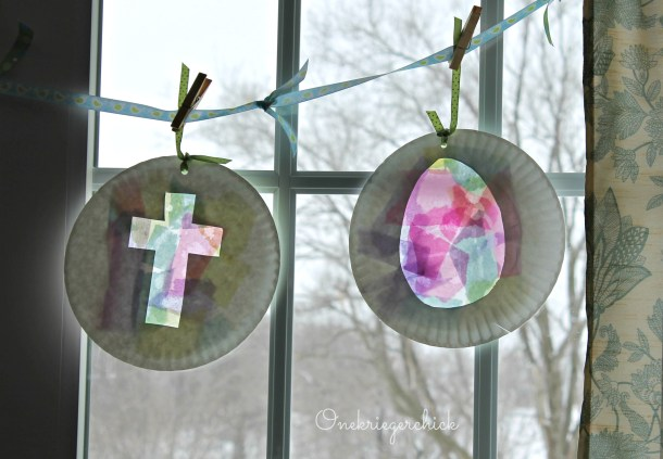 kids stained glass {Onekriegerchick.com}