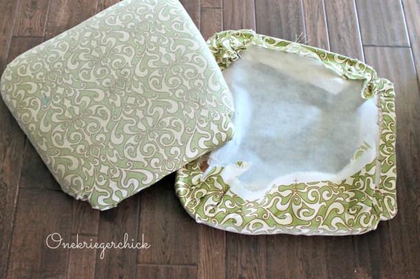 Cushion close-up {Onekriegerchick.com}