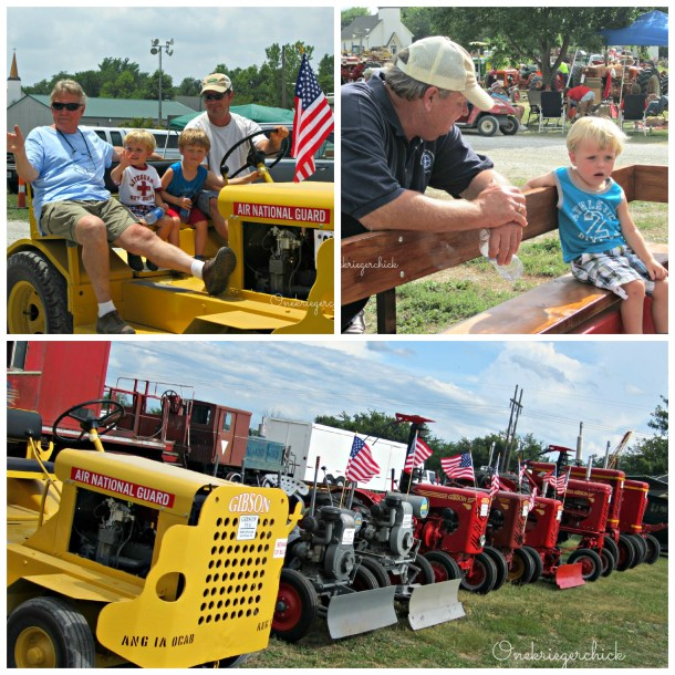 Tractor Show Collage 2012 {Onekriegerchick.com}