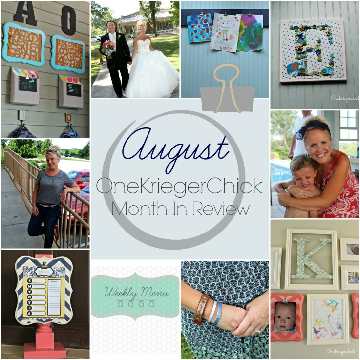 OneKriegerChick I August Month in Review