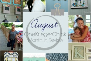 slider OneKriegerChick I August Month in Review