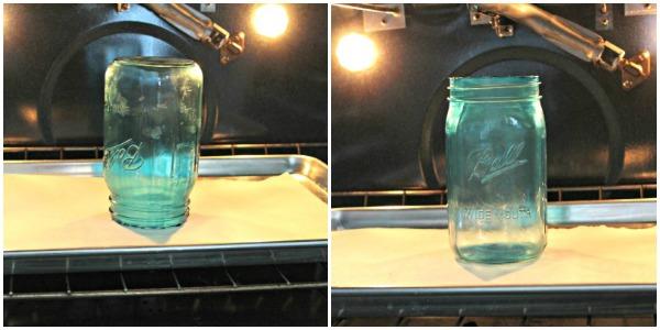 Mason jar baking {Onekriegerchick.com}