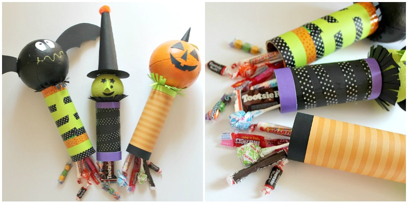 Halloween Candy dispensers...Yum!