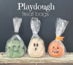 slider playdough treat bags