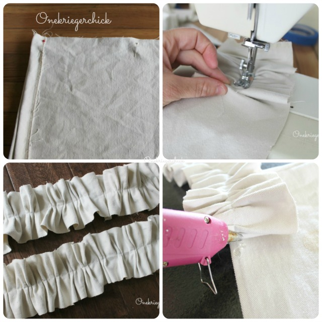 Sewing ruffle strips