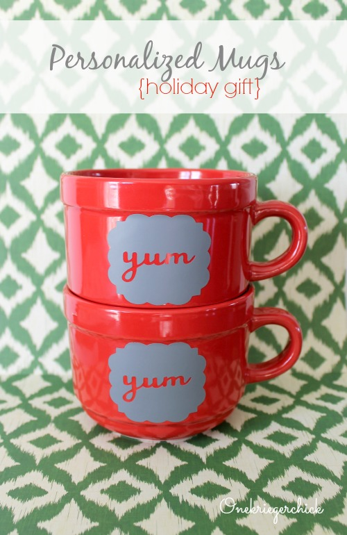 Personalized mugs- so easy!