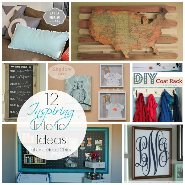12 Inspiring Interior Ideas from Hit Me With Your Best Shot Linky Party #2