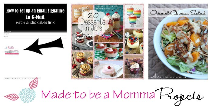 Made to be a Momma Projects 3