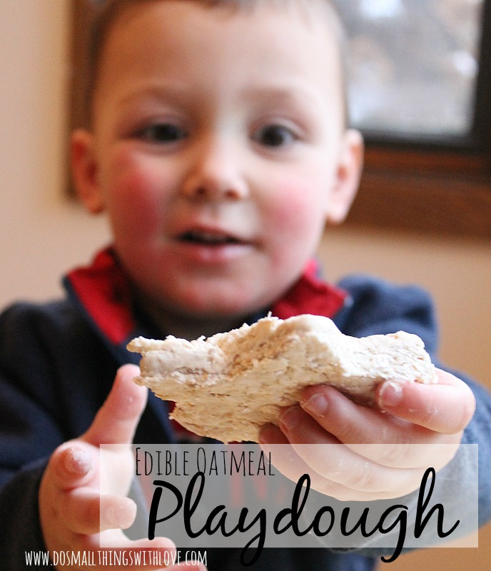 oatmeal-playdough