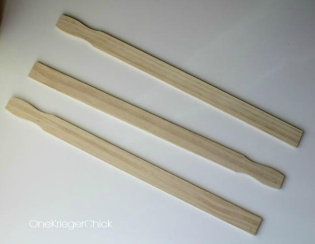 paint stick arrows