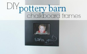 slider DIY pottery barn inspired frames