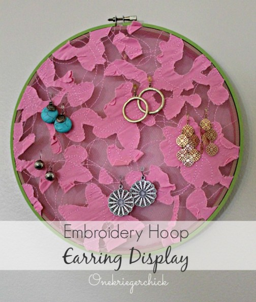 Earring Hoop Display