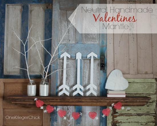 Handmade-Valentines-Mantle
