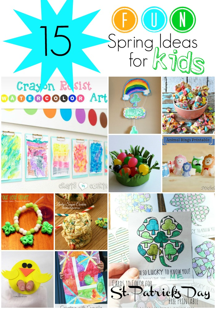 15 Fun Spring Ideas For Kids!