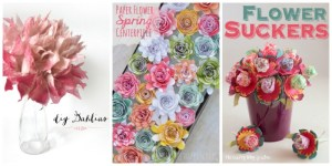 Spring Flower projects