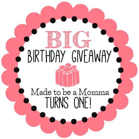 Made to be a Momma giveaway
